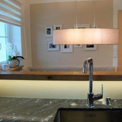 Küche Granit Sitzecke